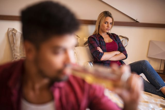 Woman Being Unable To Get Over Capricorn Man's Past
